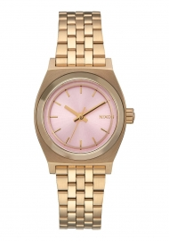 Small Time Teller Light Gold / Pink