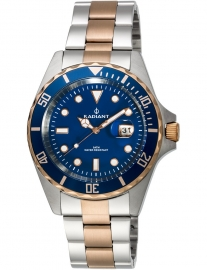 RELOJ RADIANT NEW NAVY STEEL RA410206