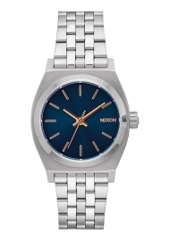 RELOJ Medium Time Teller Navy / Rose Gold