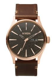 RELOJ NIXON SENTRY LEATHER A1052001