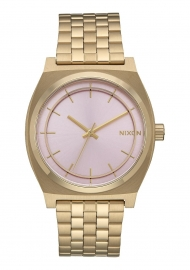 RELOJ Time Teller Light Gold / Pink