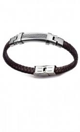 RELOJ pulsera-acero-y-piel-sr-fashion-6292p01011
