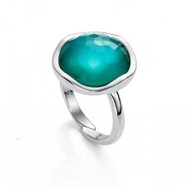 RELOJ anillo-plata-y-cristal-azul-9002a016-43
