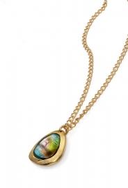 RELOJ collar-metal-chap-oro-y-murano-sra-tribal-1024c19012