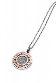 RELOJ colgante-plata-chapado-rosa-sra-jewels-1158c100-99