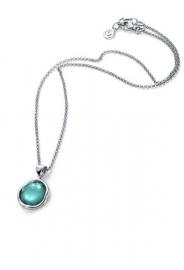 RELOJ collar-plata-y-cristal-azul-9002c000-43