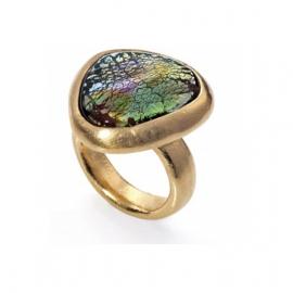 RELOJ anillo-metal-chap-oro-y-murano-sra-tribal-1024a01612