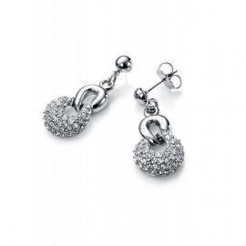 RELOJ pensientes-rodio-sinttico-y-cristal-sra-fashion-3172e11000