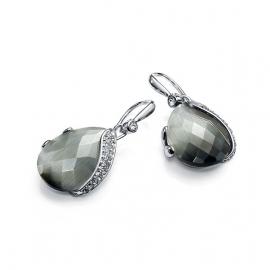 RELOJ pendientes-chapado-en-rodio-gema-y-cristal-sra-bijoux-b1075e000-90