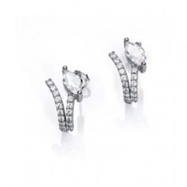 RELOJ pendientes-plata-y-circonitas-sra-jewels-2007e000-30