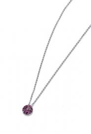 RELOJ pendientes-plata-de-ley-y-cristal-rosa-sra-jewels-7054c000-57