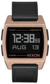 RELOJ NIXON BASE LEATHER ANTIQUE COPPER / BLACK A1181872