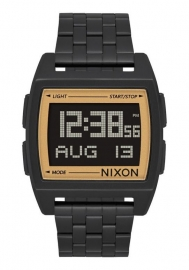 RELOJ NIXON BASE ALL BLACK / GOLD A11071031