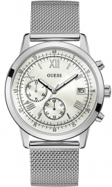 RELOJ GUESS WATCHES GENTS DRESS STEEL W1112G1