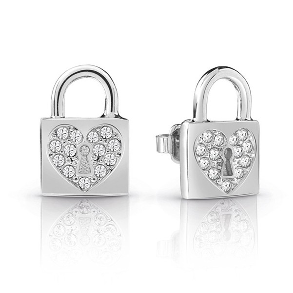 GUESS JEWELLERY HEART LOCK UBE85053