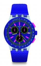 RELOJ SWATCH ORIGINALS CHRONO PLASTIC PURP-LOL SUSK400