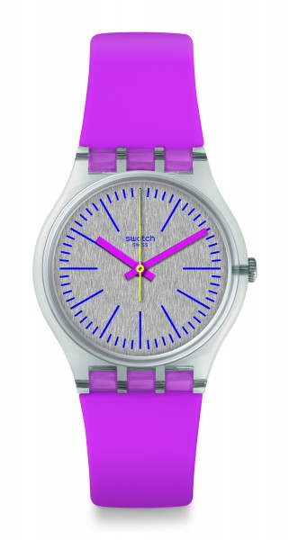 SWATCH ORIGINALS GENT FLUO PINKY GE256