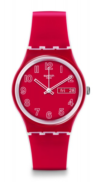SWATCH ORIGINALS GENT POPPY FIELD GW705