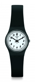 RELOJ SWATCH ORIGINALS LADY SOMETHING BLACK LB184