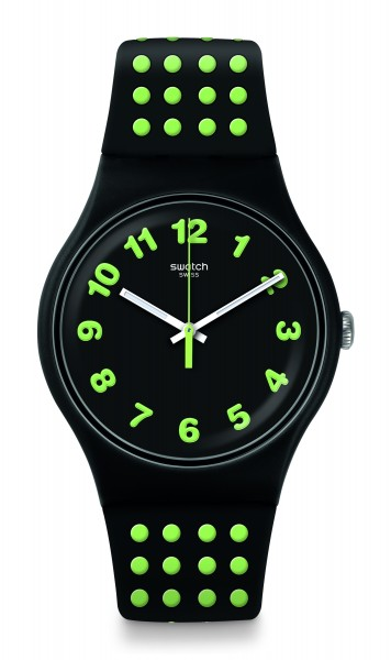 SWATCH ORIGINALS NEW GENT PUNTI GIALLI SUOB147