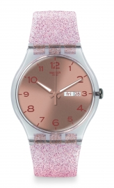 RELOJ SWATCH ORIGINALS NEW GENT PINK GLISTAR SUOK703