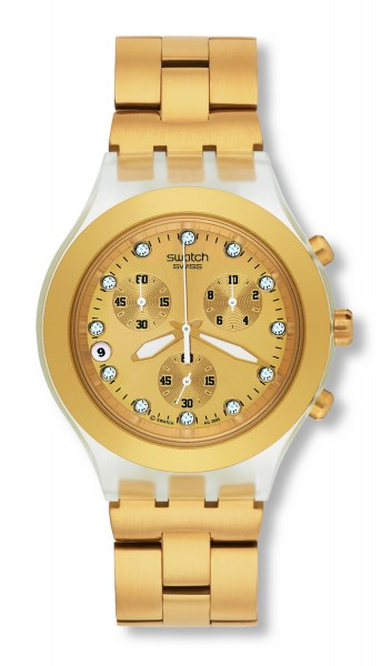 SWATCH IRONY DIAPHANE FULL-BLOODED SVCK4032G