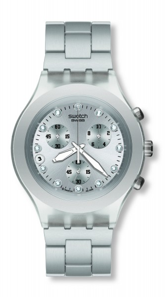 SWATCH IRONY DIAPHANE FULL-BLOODED SILVER SVCK4038G