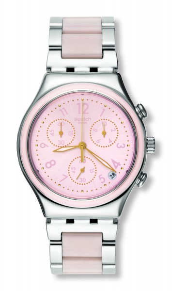 SWATCH IRONY CHRONO DREAMNIGHT ROSE YCS588G