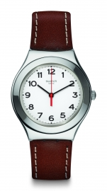 RELOJ SWATCH IRONY BIG STRICTLY SILVER YGS131