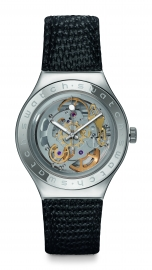 RELOJ SWATCH IRONY AUTOMATIC BODY & SOUL  LEATHER YAS100D