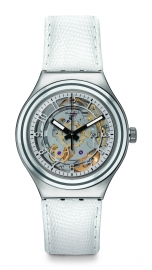 RELOJ SWATCH IRONY AUTOMATIC UNCLE CHARLY  LEATHER YAS112C