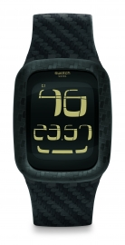 RELOJ SWATCH DIGITAL SWATCH TOUCH CARBON FEVER SURB110