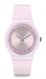 RELOJ SWATCH ORIGINALS NEW GENT PINKSPARKLES SUOP110
