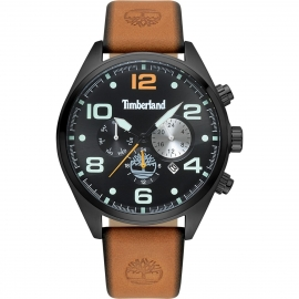 RELOJ TIMBERLAND WHITMAN BLACK / TAN 15477JSB-02