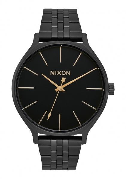 NIXON CLIQUE ALL BLACK A1249001