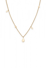 RELOJ ROSEFIELD JEWELRY IGGY SHAPED DROP NECKLACE GOLD JSDNG-J054
