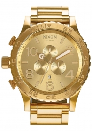 RELOJ NIXON 51-30 CHRONO ALL GOLD A083502