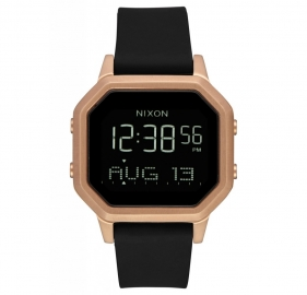 RELOJ NIXON THE SIREN BLACK / ROSEGOLD A12111098