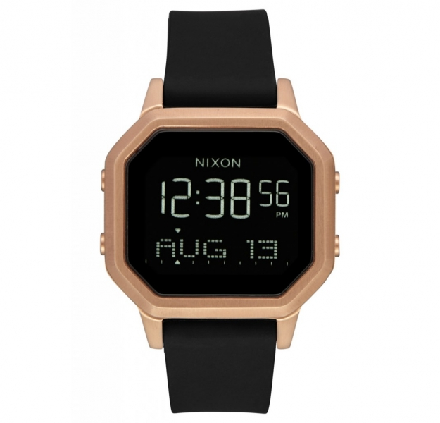 NIXON THE SIREN BLACK / ROSEGOLD A12111098