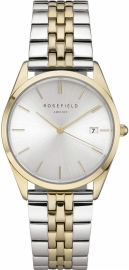RELOJ ROSEFIELD THE ACE SILVER SUNRAY SILVER GOLD DUO ACSGD-A01