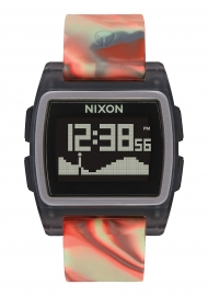 RELOJ NIXON THE BASE TIDE JELLYFISH ORANGE A11043178