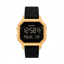 RELOJ NIXON THE SIREN BLACK / GOLD A12112970