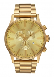 RELOJ NIXON SENTRY CHRONO ALL GOLD A386502
