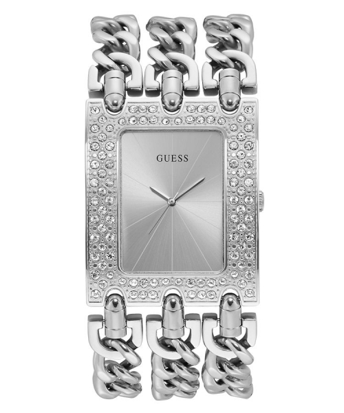 GUESS WATCHES LADIES HEAVY METAL W1275L1