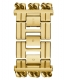 GUESS WATCHES LADIES HEAVY METAL W1275L2