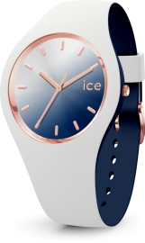 RELOJ ICE WATCH DUO CHIC - WHITE MARINE - SMALL - 3H IC017153