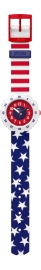 RELOJ FLIK FLAK POWER TIME STARS AND STRIPES FPSP028