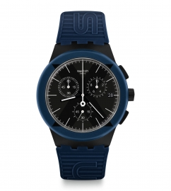 RELOJ SWATCH CHRONO PLASTIC X-DISTRICT BLUE SUSB418