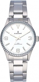 RELOJ RADIANT MULAN ALL SS 30MM WHITE DIAL SILVER BAND RA537201