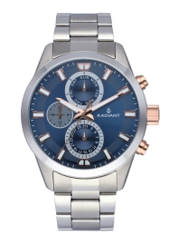 RELOJ RADIANT GUARDIAN ALL SS 44MM BLUE DIAL SILVER BA RA479706